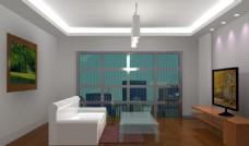 室内设计 灯光效果