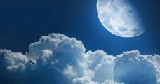 夜半云遮月