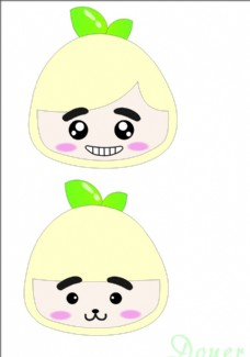 卡通玉米形象