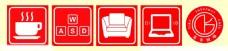 莱客网咖标志
