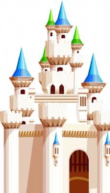 城堡 卡通 KT板