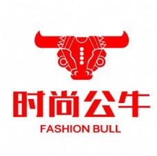 时尚公牛logo