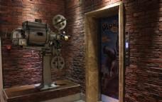 老式放映机