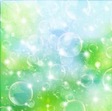 梦幻动感气泡背景