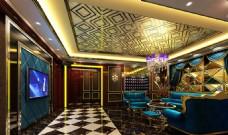 星级酒店董事长娱乐室设计