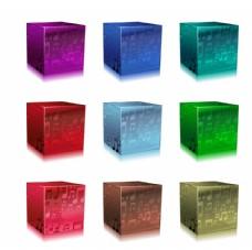 音乐主题水晶立方体
