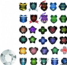 精美水晶徽章