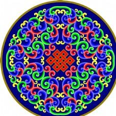 高清蒙古族花纹