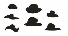 草帽矢量图