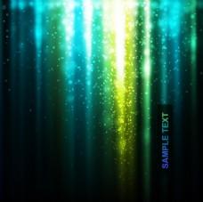 璀璨光效背景矢量素材