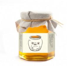 蜂蜜包装 矢量展开图