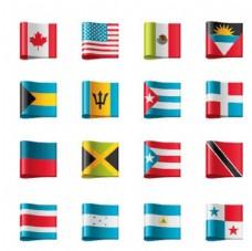 矢量 国旗图标