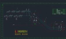 输煤系统原理方案图机械图纸