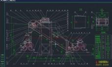 中间输送机装配图机械图纸