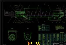 新型螺旋输送机机械图纸