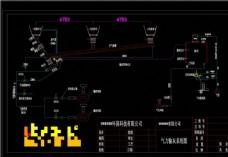 输送系统图机械图纸