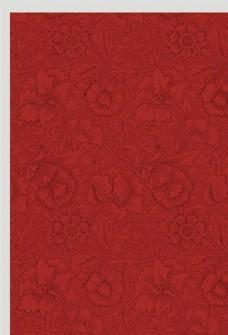红色背景模板
