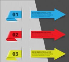 商务箭头图表