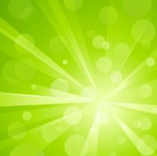 绿色光效背景矢量素材