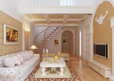 现代简约室内装饰效果图