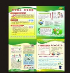 创卫健康知识宣传栏
