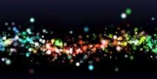 动感粒子光效背景