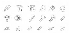 手绘装修工具