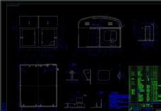 起重机展现CAD机械图纸