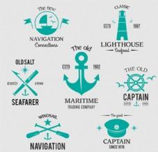 航海元素标签