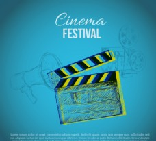 创意电影节海报