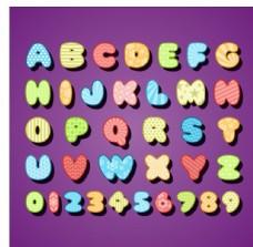 字母设计矢量