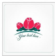 红玫瑰矢量图