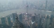 上海陆家嘴外景