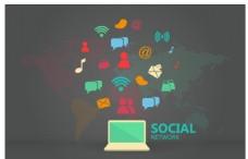 图表社会媒体