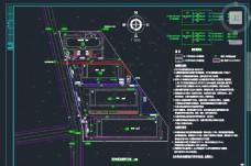 厂区室外低压电气平面图