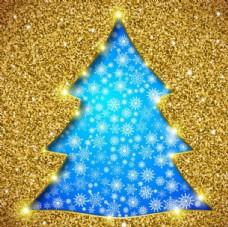 藍色圣誕樹
