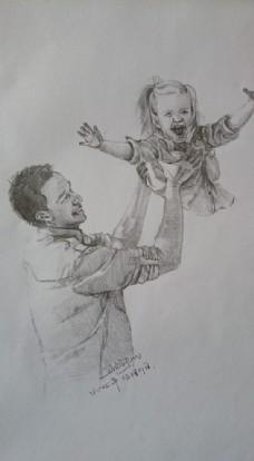 父亲与女儿