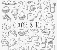 咖啡与甜点