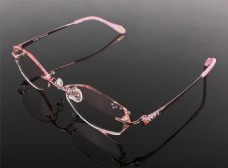 钻石切边眼镜