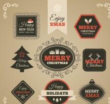 圣诞快乐标签