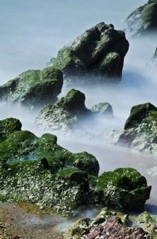 海邊  礁石