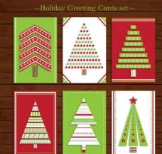 圣诞树卡片