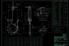 机械零件设计CAD机械图纸