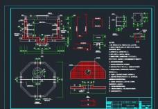 八角形电缆井施工图