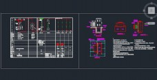 美式箱变系统图 基础、接地设计