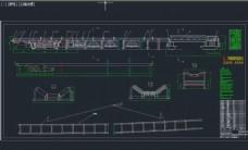 平面转弯输送机总图