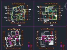 二层别墅空调暖通设计图
