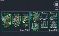 单体欧式三层别墅施工图
