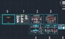 多卧室单层中式住宅设计图