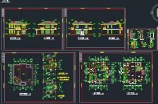 二层私人别墅施工设计图